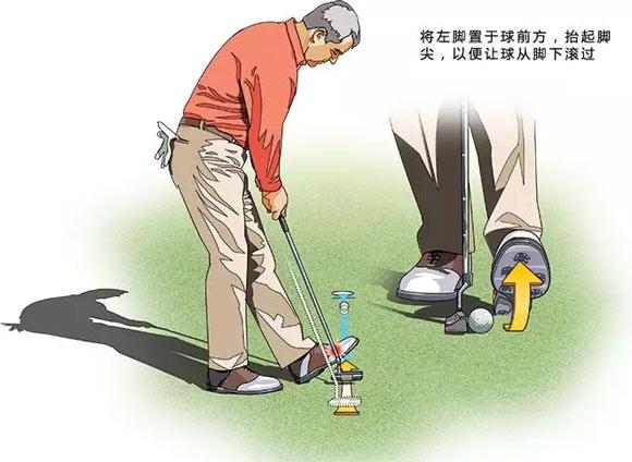 模拟高尔夫 踢走短推恐惧症
