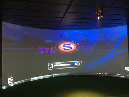 韩国原装进口WS4型模拟高尔夫