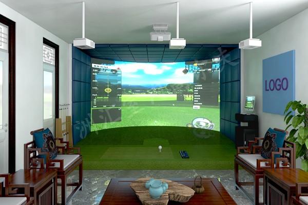 上海模拟高尔夫 模拟高尔夫小程序 极具特色的新高尔夫球馆诞生
