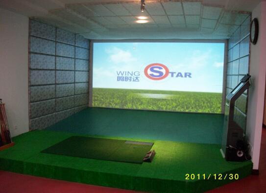韩国原装进口wingstar-WS1型红外模拟高尔夫