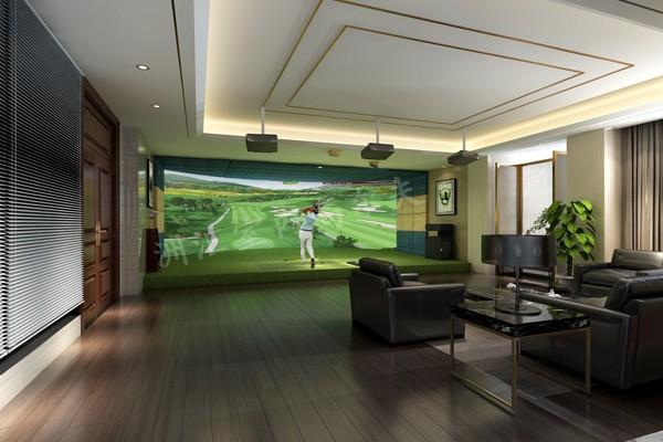 北京模拟高尔夫球场供室内高尔夫练习场和人工果岭、模拟保龄、射击、3D影院等各种高端康体休闲设备